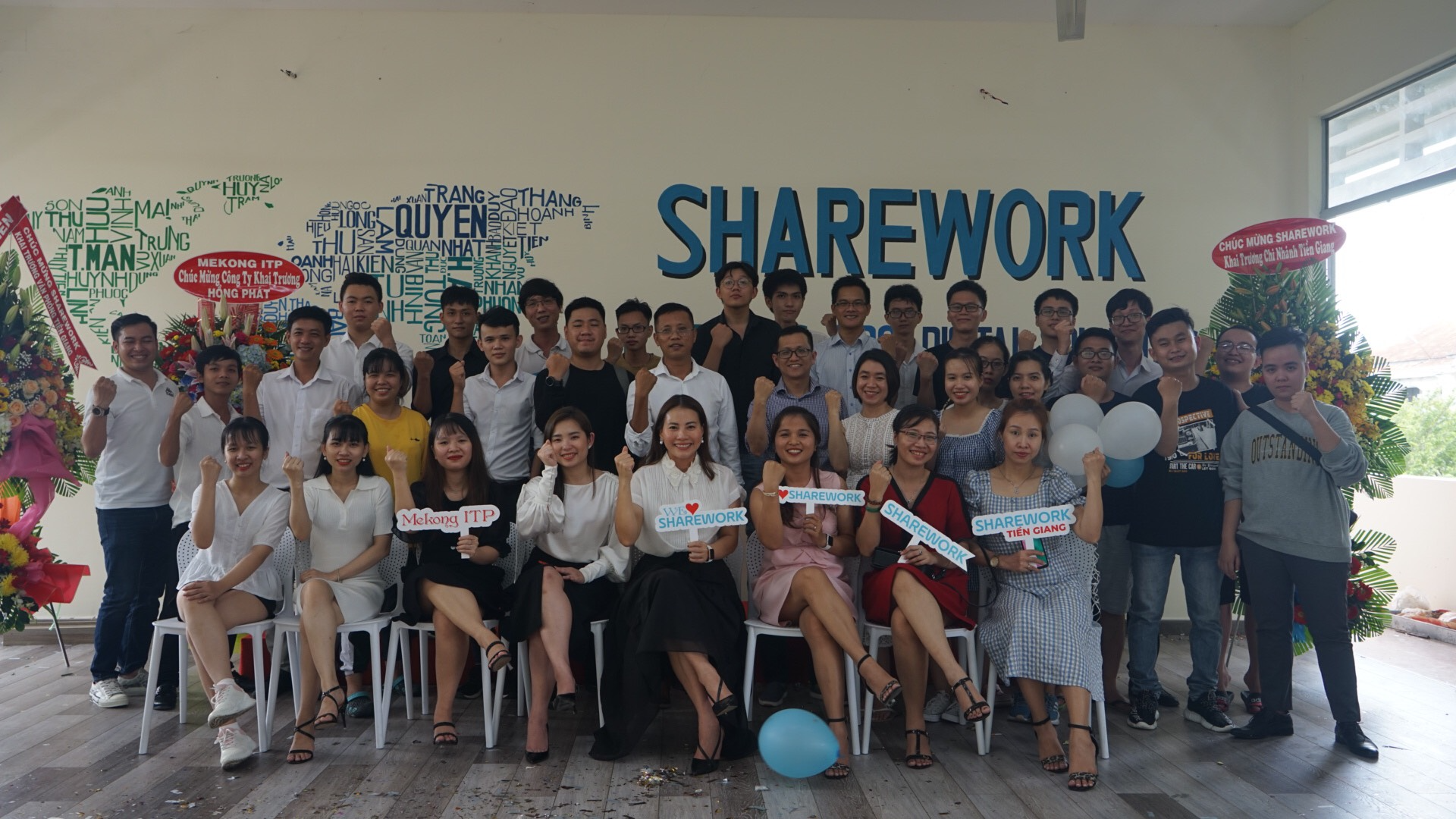 GRAND OPENING SHARWORK TIEN GIANG